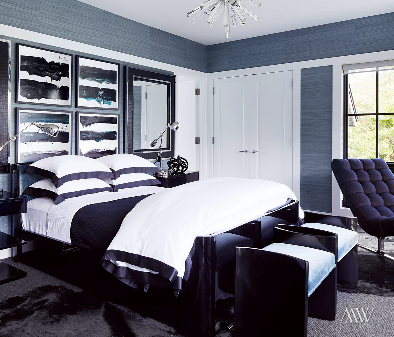 modern black and white bedroom ideas jackson pointe megan winters 20715